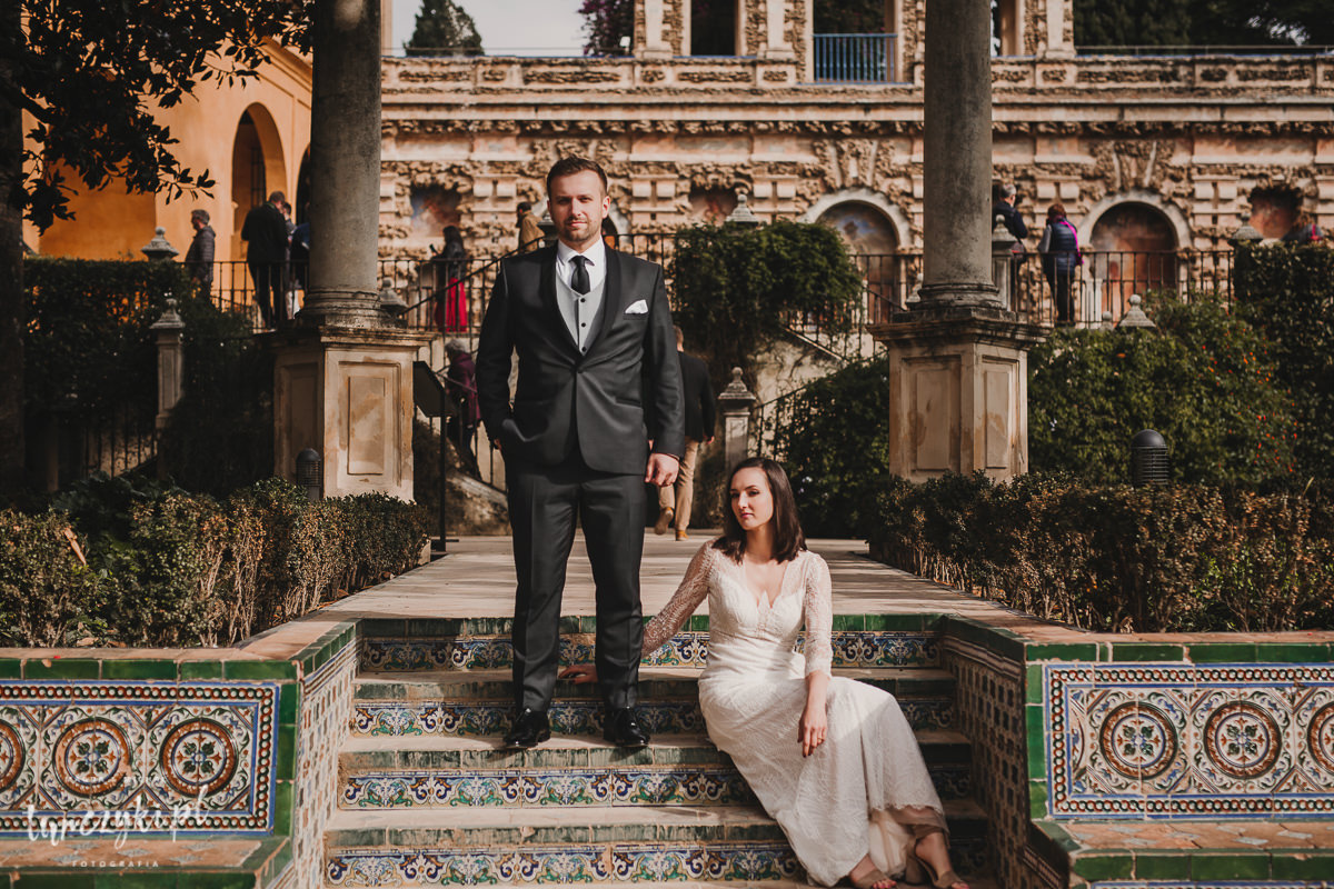 Sesja Ślubna Sewilla Hiszpania Fotograf
