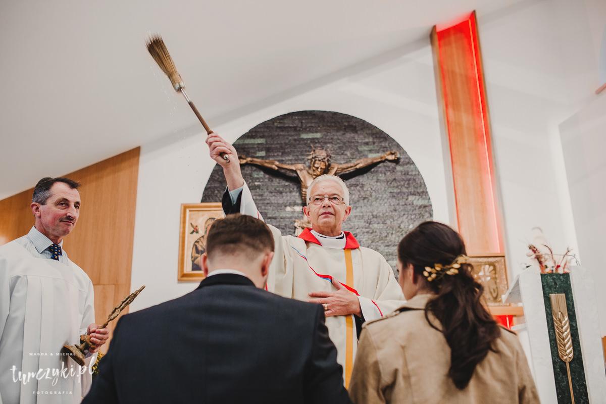 Ślub Myślenice Zarabie św. Franciszek